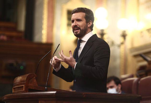 Imagen de archivo de Pablo Casado en el
