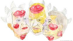 ¿Qué comen un comunista, un demócrata y un liberal cuando se juntan a