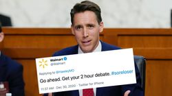 Walmart Apologises For 'Mistakenly' Calling GOP Senator A 'Sore Loser' On