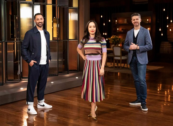 'MasterChef Australia' judges Andy Allen, Melissa Leong and Jock Zonfrillo