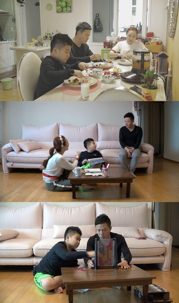 2019년 E채널 '똑.독.한 코디맘 베이비 캐슬'에 출연한 조영구-신재은 부부
