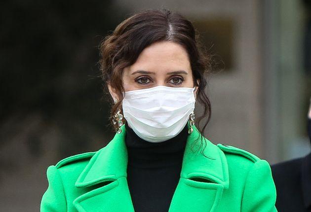 La presidenta de la Comunidad de Madrid, Isabel Díaz Ayuso, el 18 de diciembre de 2020 (Pablo...