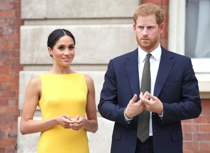 Harry and Meghan hope to build a better world (Yui Mok/PA)
