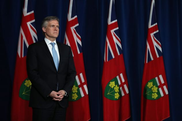 Le ministre des Finances de l'Ontario Rod Phillips vient de donner sa