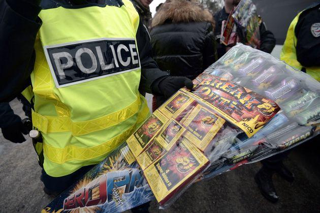 Nouvel An: un homme tué par un mortier d'artifice en Alsace (photo d'illustration: contrôle...