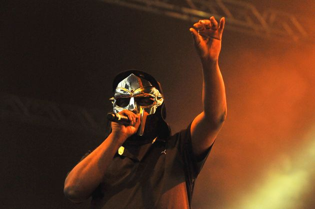 MF Doom pictured performing in