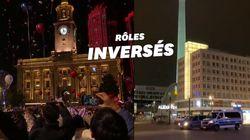 Au Nouvel An, le contraste frappant entre la foule de Wuhan et ces métropoles