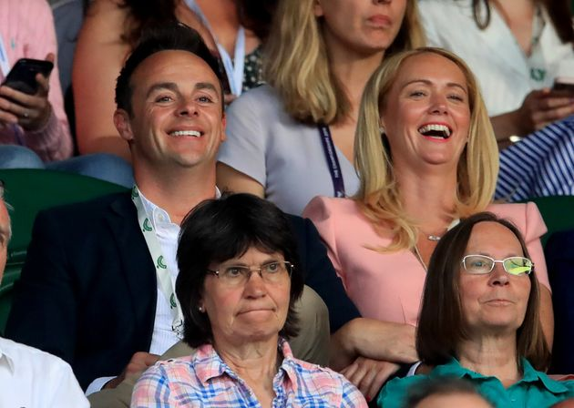 Ant McPartlin with Anne-Marie