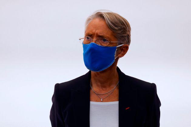 Elisabeth Borne lors d'une conférence de presse le 15 octobre 2020 (Ludovic Marin, Pool...