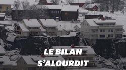 En Norvège, le bilan s'alourdit à 7 morts après le glissement de