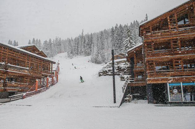 Station de ski de Verbier en Suisse le 29 décembre 2020 (Photo by Robert Hradil/Getty