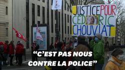 Un an après la mort de Cédric Chouviat, l'hommage de centaines de personnes à