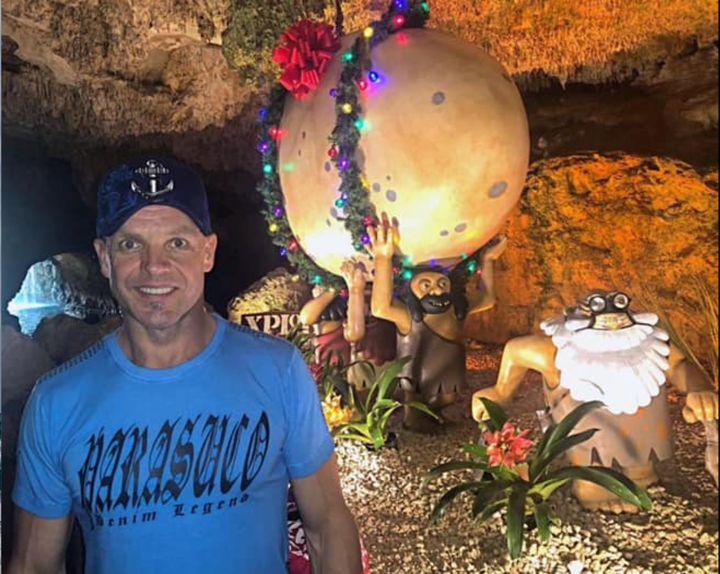 Le député albertain Pat Rehn a partagé cette photo sur Facebook pendant un voyage familial au Mexique, le 24 décembre 2020.