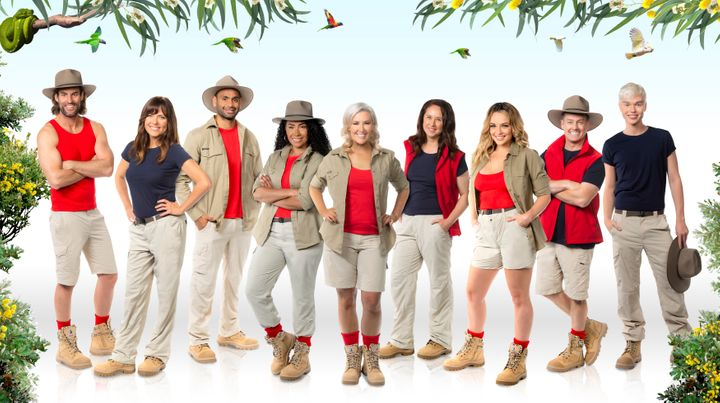 The cast of 'I'm A Celebrity... Get Me Out Of Here! Australia'