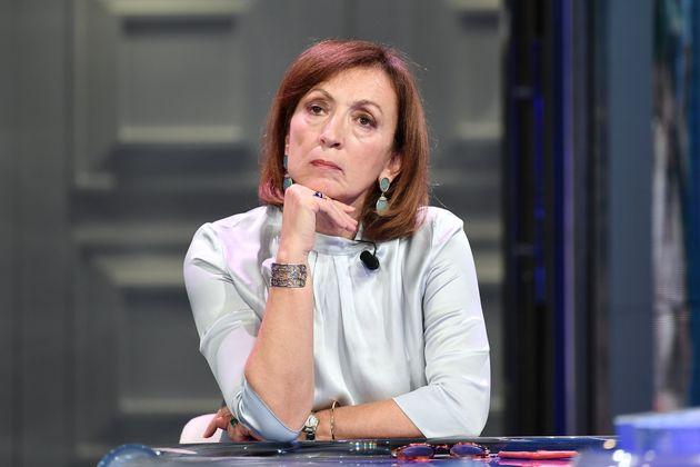 27/10/2020 Roma. Rai. Programma televisivo Porta a Porta, nella foto Sandra Zampa sottosegretario ministero...