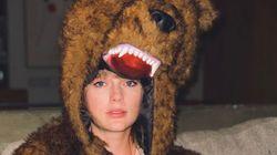 Taylor Swift a passé le Nouvel an déguisée en ours et ses fans pensent savoir