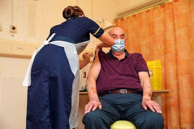 Brian Pinker, paciente