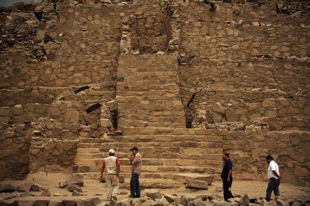 Τουρίστες στον αρχαιολογικό