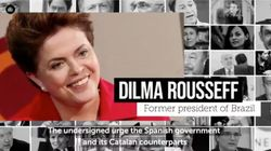 Gerry Adams, Yoko Ono, Dilma Rousseff y cinco Nobel piden amnistía para los políticos del
