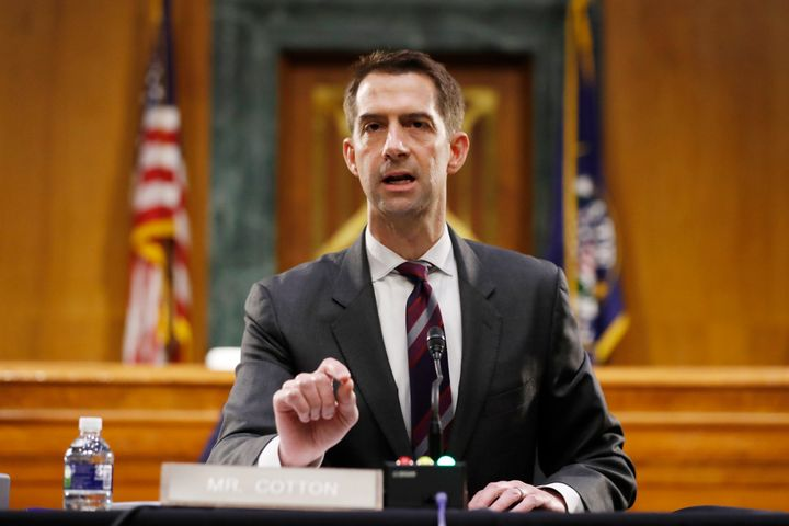 Sen. Tom Cotton (R-Ark.) said Sunday he will not object to certifying President-elect Joe Biden's Electoral Colleg