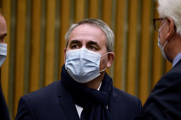Xavier Bertrand, ici au ministère de l'Économie à Paris le 19 octobre