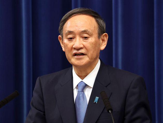 菅義偉首相=2021年1月4日撮影