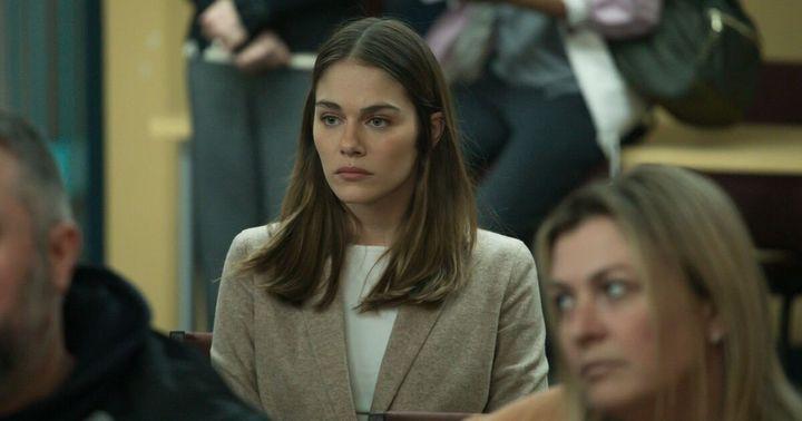 Maripier Morin dans la première saison de «La faille».