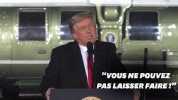 Trump appelle la Géorgie à