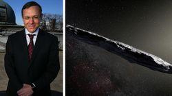 """Il prof di Harvard: """"Gli alieni ci hanno fatto visita nel 2017: Oumuamua non era"""
