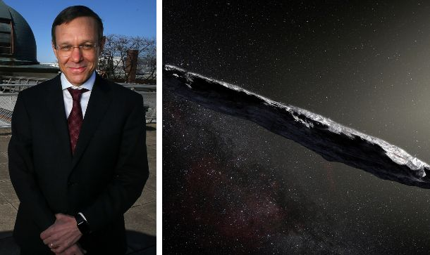 Il professor Avi Loeb; l'asteroide