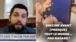 Cet étudiant reçoit le vaccin