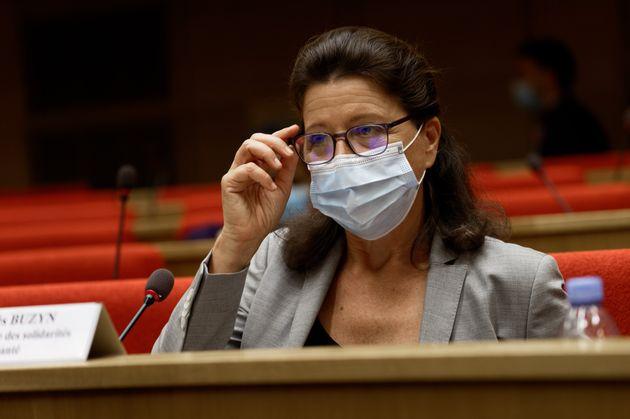 Agnès Buzyn lors de son audition par la commission d'enquête du Sénat le 23 septembre