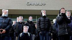 Des salariés de Canal+ manifestent en soutien à Stéphane