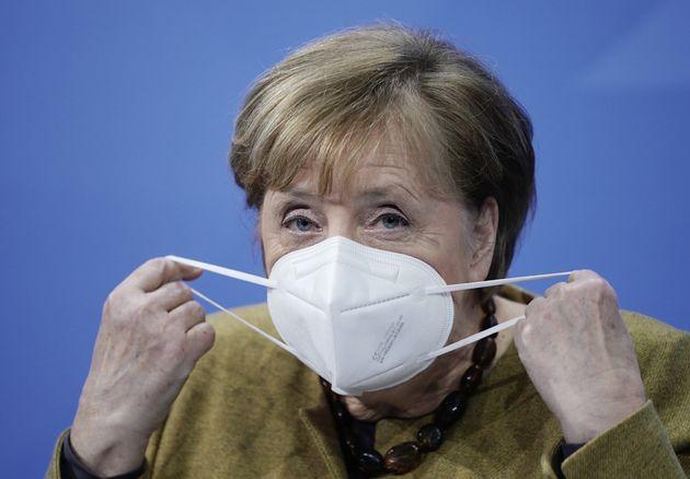 Angela Merkel, ici à Berlin en Allemagne, le 5 janvier