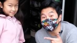 Simu Liu Surprises Widowed Toronto Dad And Kids At