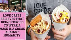 Sydney Crepe Cafe Slammed For Refusing To Enforce Mask Mandate: 'Crime Against