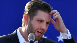Eric Trump Tried To Steal His Dad's Favourite Line. It Didn't Go