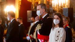 Felipe VI no se pronuncia concretamente sobre los exmilitares pero apela al incondicional compromiso con la