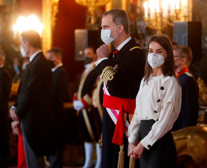 Felipe VI y la reina