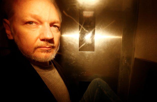 Le fondateur de WikiLeaks, Julian Assange, le 1er mai 2019 à Londres (image