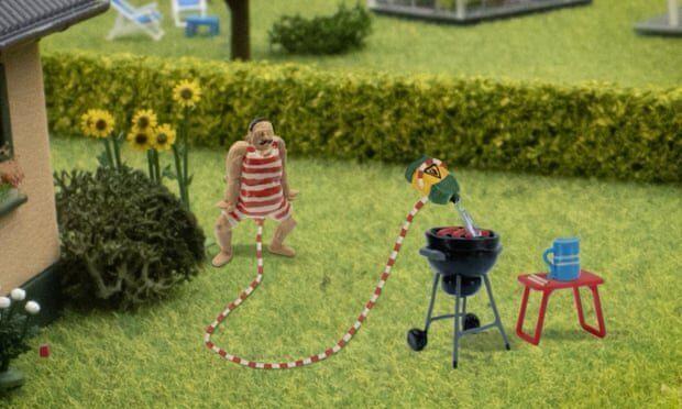 In Danimarca un cartone animato di un uomo con un pene gigante scatena polemiche