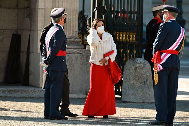 Robles, en el Palacio Real durante la Pascua