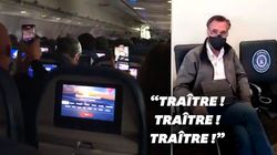 Mitt Romney chahuté par des pro-Trump en avion avant le vote au