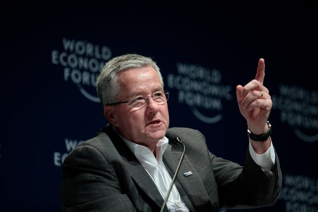 Brian Gallagher, the president and chief executive officer of United Way Worldwide. He has allowed misconduct...