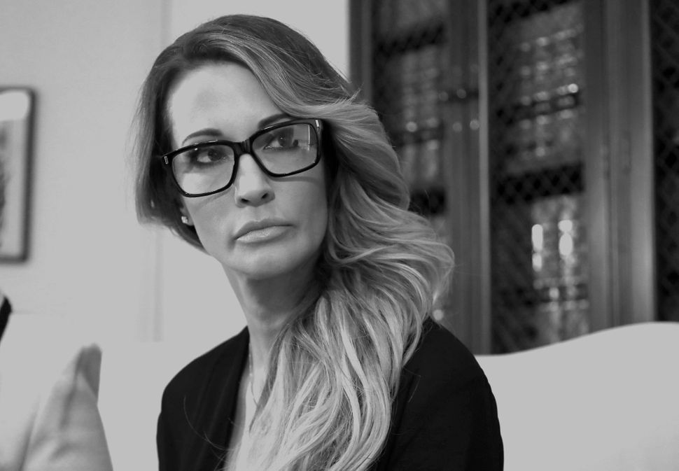Jessica Drake at a news conference in Los Angeles on Oct. 22, 2016. She accused Donald Trump ofgrabbing...