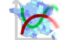 Des courbes et cartes pour comprendre le flou sur la situation épidémique en