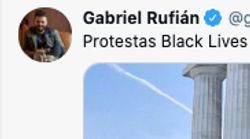 A Rufián le bastan dos fotos para sacar los colores a