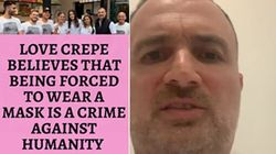 Sydney Crepe Cafe Owner Says He Singles Out Mask-Clad Customers: 'I Think It's