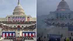 La impactante imagen del Capitolio que resume a la perfección la presidencia de