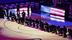 Heat, Celtics Players Kneel In Protest Against Capitol Riots, Jacob Blake